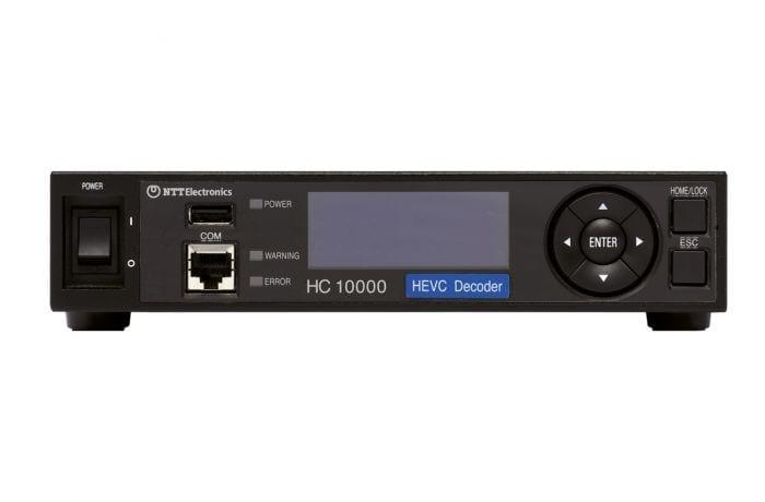 NTT Electronics HC10000 decoder